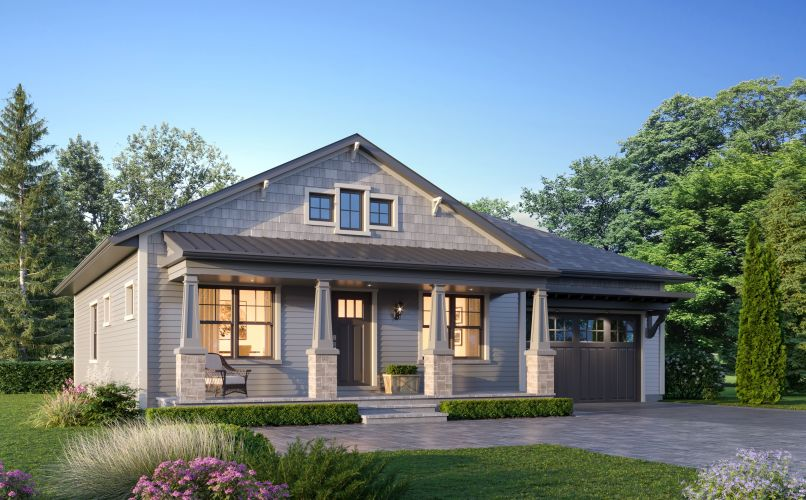 The Erie Bungalow by Durand Construction