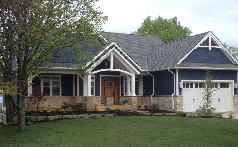The Lakehouse exterior, Durand Construction