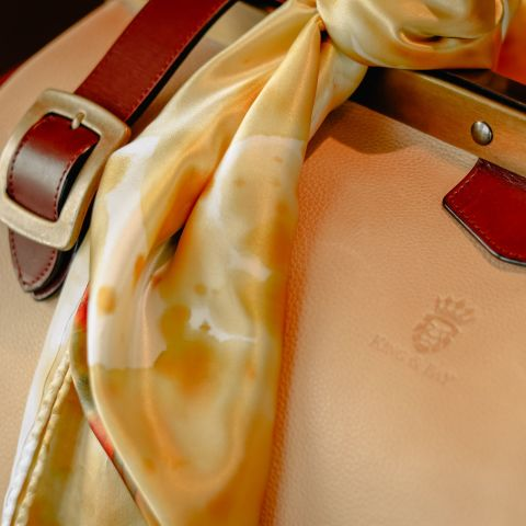 Custom Leather Bags & Scarves