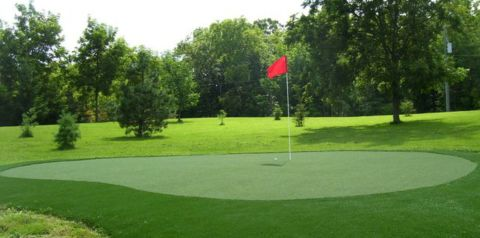 putting green - artificial turf