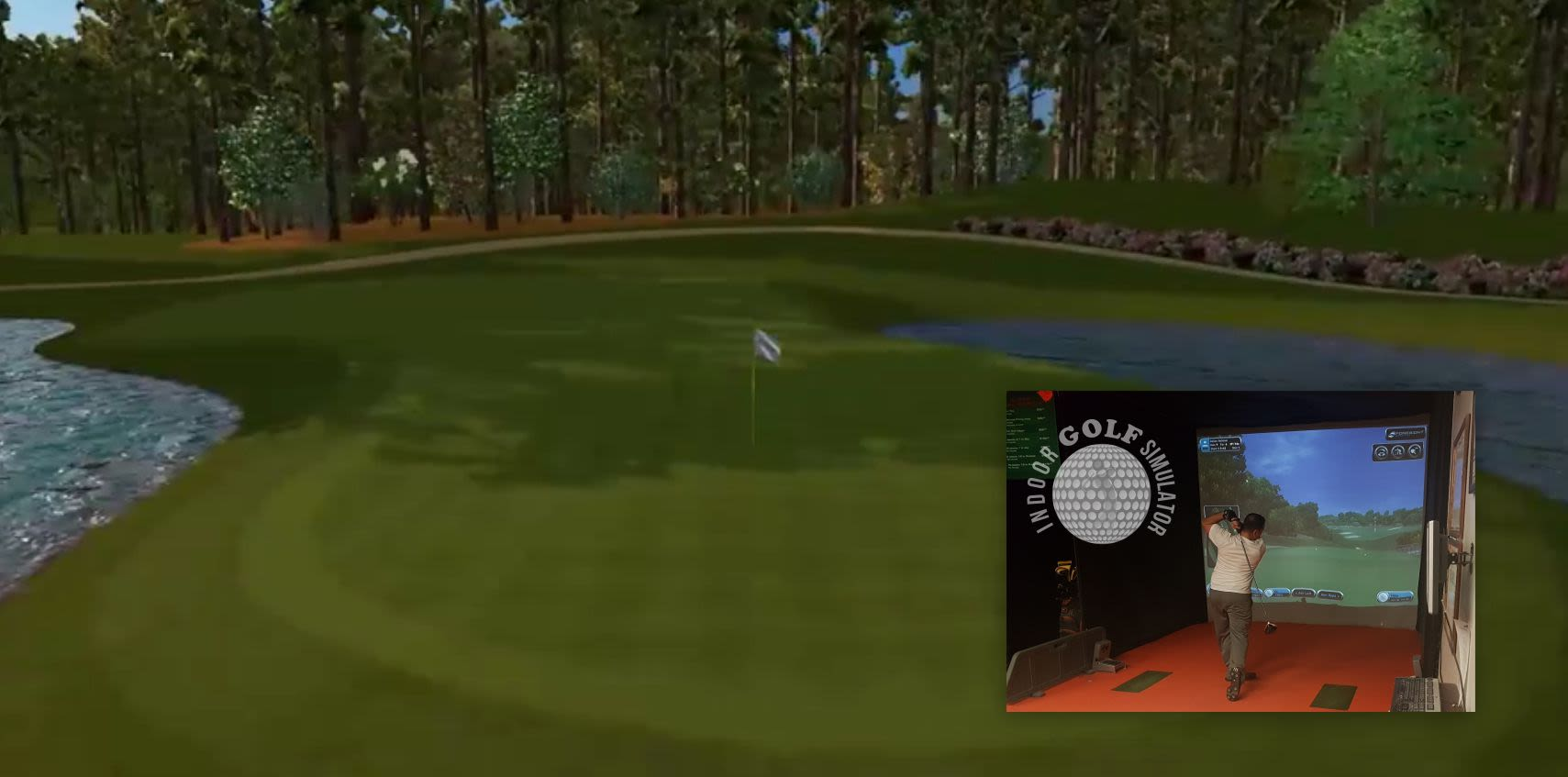 4k hd golf simulators 54 courses