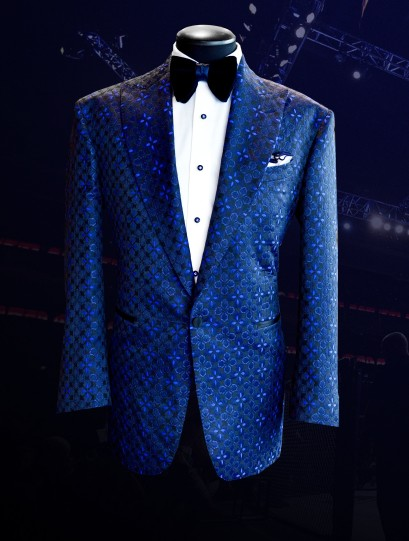 Bruce Buffer UFC 229 Raw Silk Jacquard Smoking Jacket