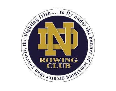 Notre Dame Rowing Club logo